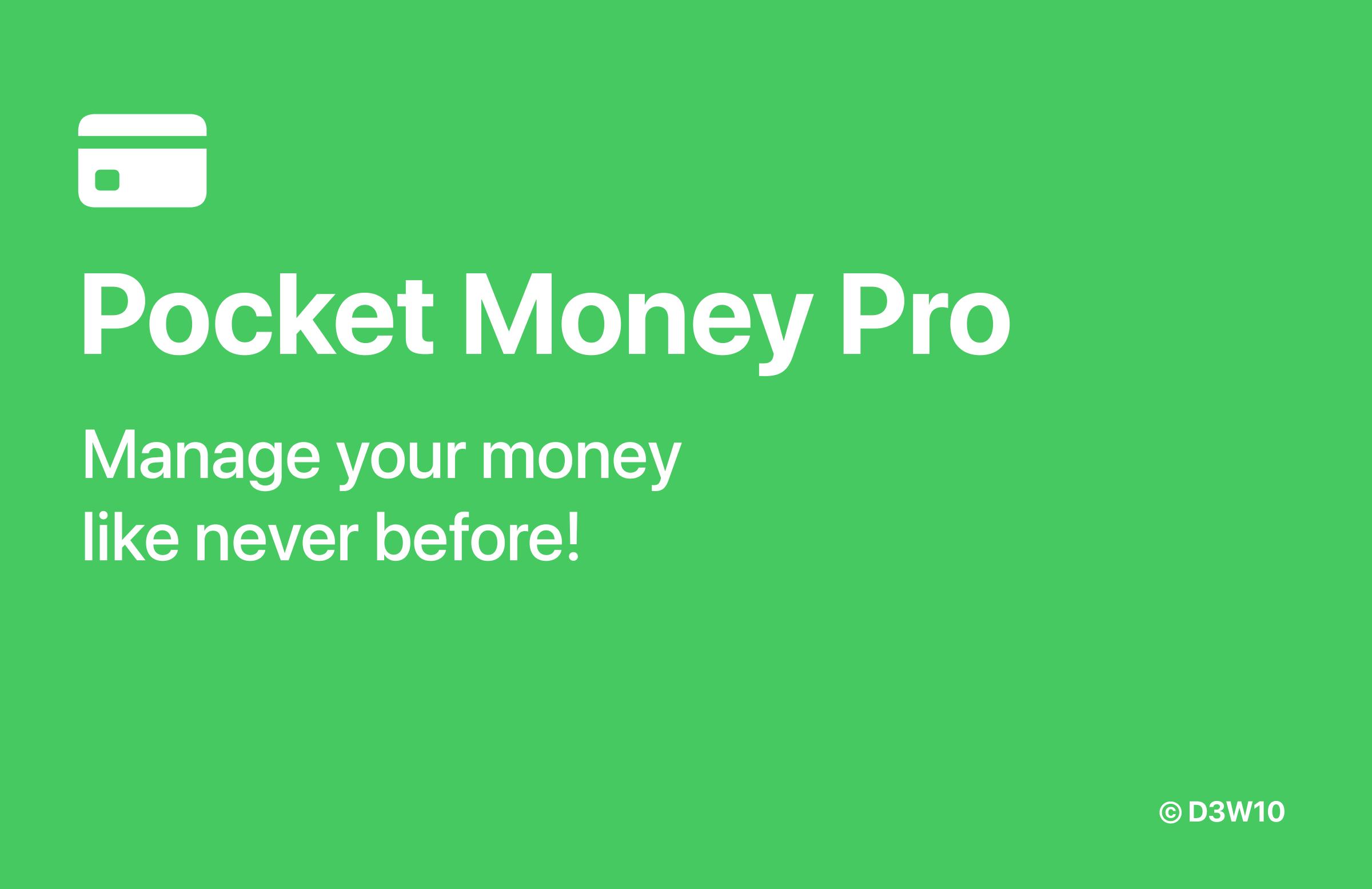 Pocket Money Pro Banner